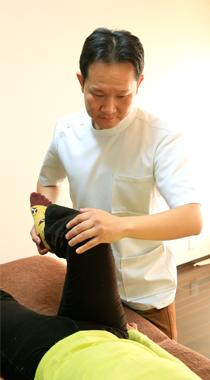 足底筋膜炎・施術